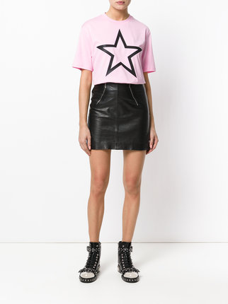 givenchy pink star t shirt