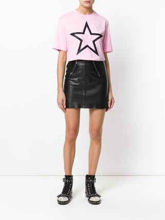 givenchy pink star t shirt
