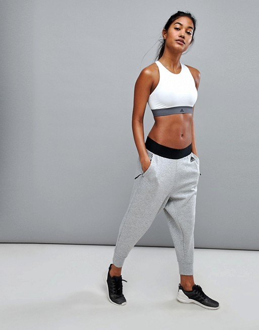 adidas Mix Up Pants In Gray